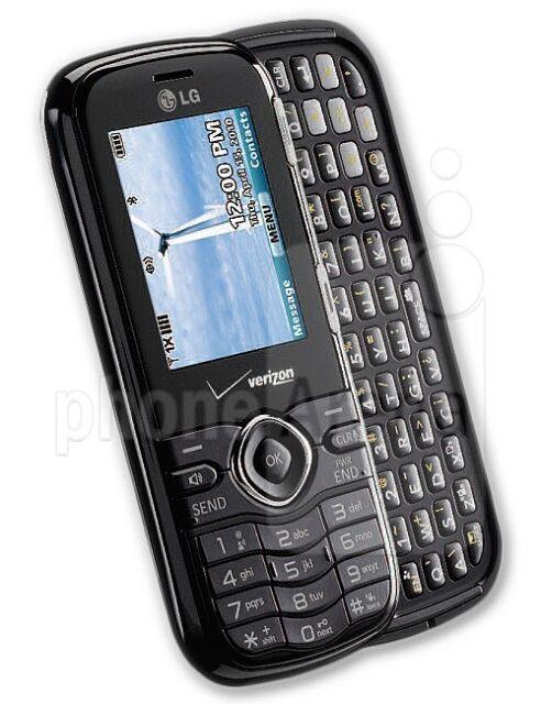 LG VN250 Cosmos - Black (Verizon) Cellular Phone