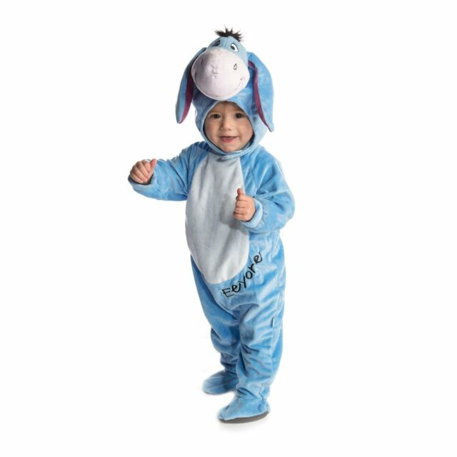Fancy Dress Costume ~ Disney Winnie The Pooh Deluxe Eeyore Age 3-24 Months