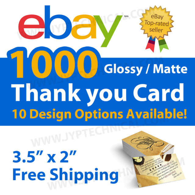 1000 ebay seller professional thank you business cards ebay 1000 ebay seller professional thank you business cards free shipping reheart Gallery