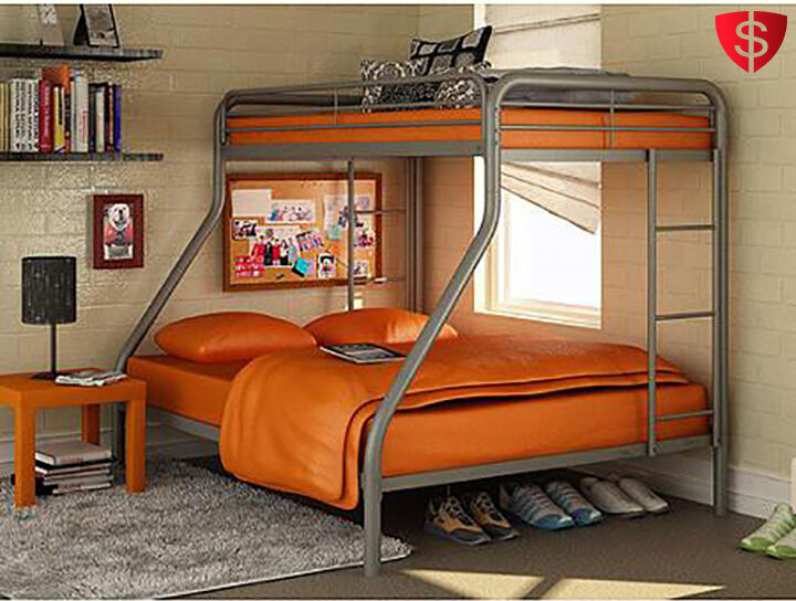 metal bunk beds for kids metal bunk bed twin over full ultim