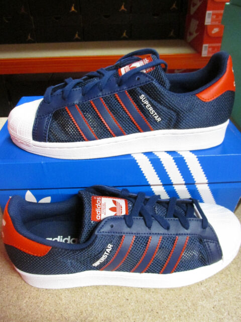 Adidas Originals Superstar Da Uomo BB5395 Scarpe Ginnastica UK 7