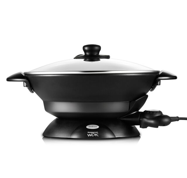 Sunbeam WW7500D Professional Non-stick Wok 7.5L - Steaming Rack included