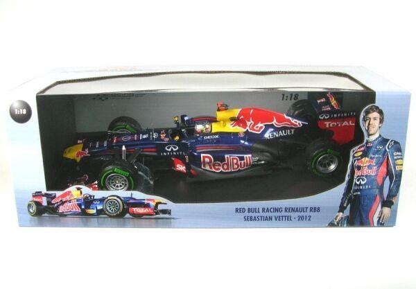 Red Bull Racing Renault RB8 No.1 Brasilera GP Campeón Mundial 2012 (Sebastian