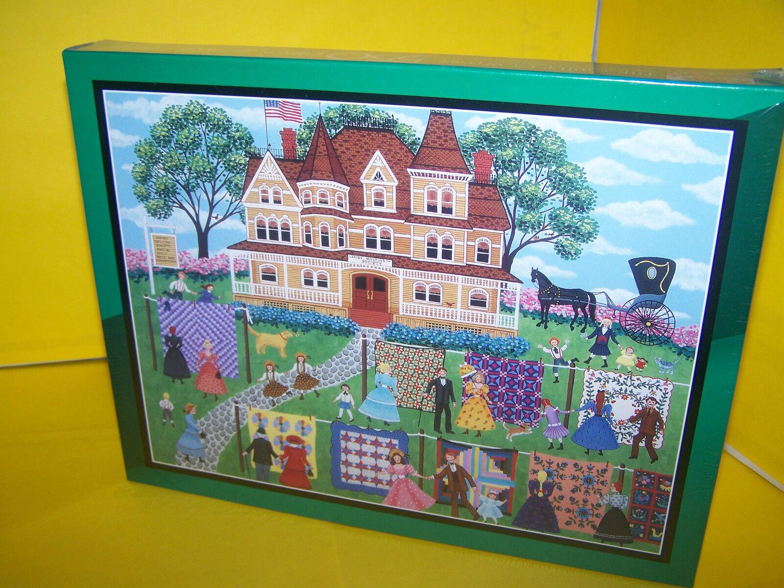 The Quilt Contest 550 Piece Jigsaw Puzzle 18 X 24 - Bits & Pieces   eBay