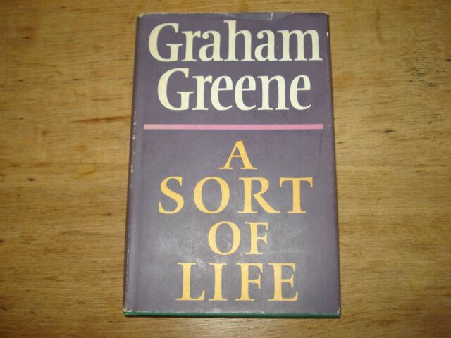 A Sort of Life, Graham Greene, 1971 HARDBACK,FIRST  UK EDITION