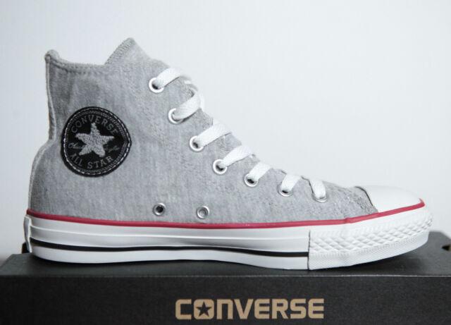 NUOVO ALL STAR CONVERSE Chucks Hi sneakers Sweatshirt 1u452 TGL 36 UK 35