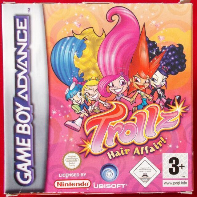 Nintendo Gameboy Advance - GBA ► Trollz: Hair Affair ◄ OVP   TOP Zustand