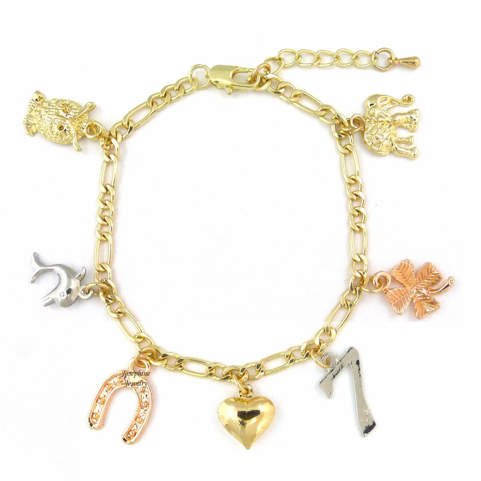 good luck charm bracelet ebay