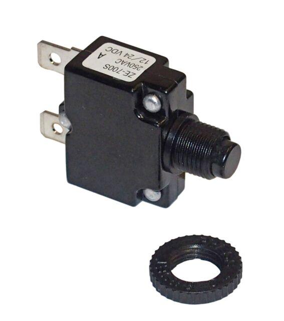 Philmore 30-6020 Push Button Circuit Breaker 20amp | eBay