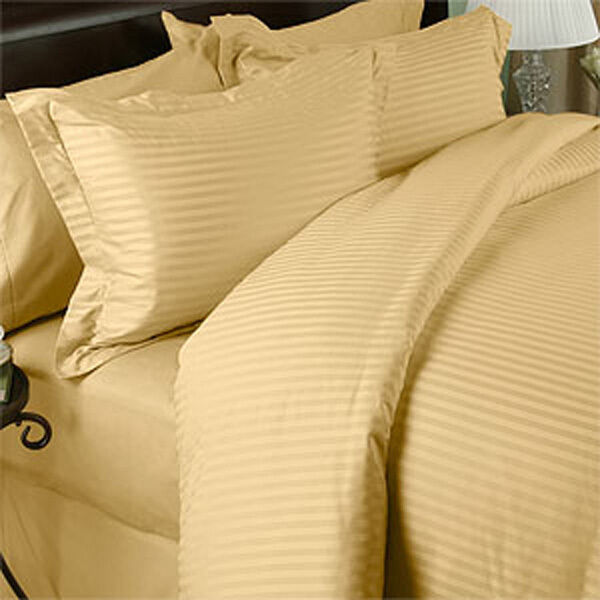1500 Thread Count 100 Egyptian Cotton 1500tc Bed Sheet Set Cal King Taupe  Solid | EBay