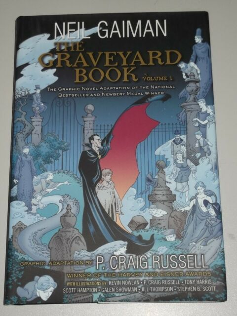 GRAVEYARD BOOK VOL 1 HARPER NEIL GAIMAN P CRAIG RUSSELL HARDBACK 9780062194817
