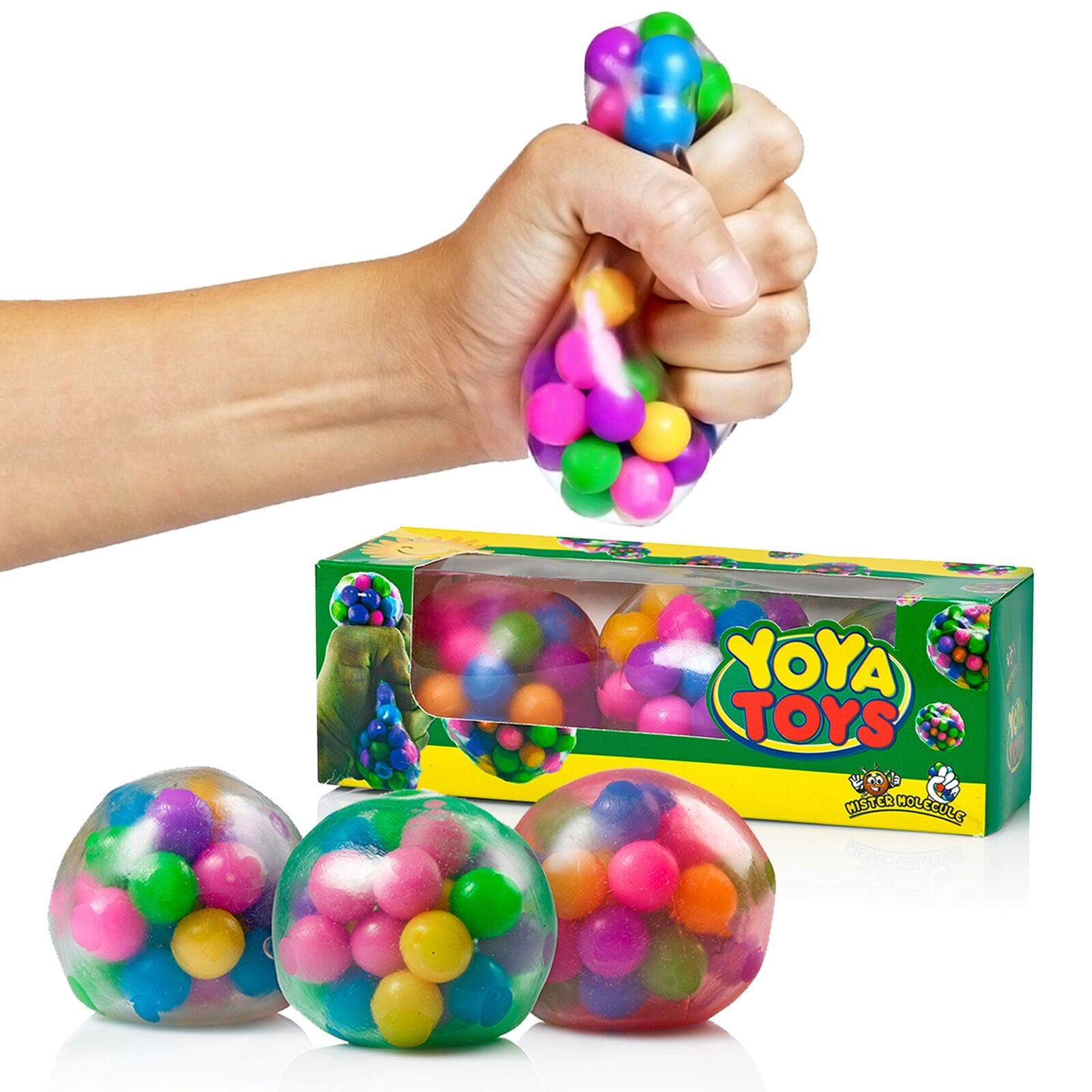 DNA Stress Toy Balls Ball by Yoya Toys Pack Squeezing Relief
