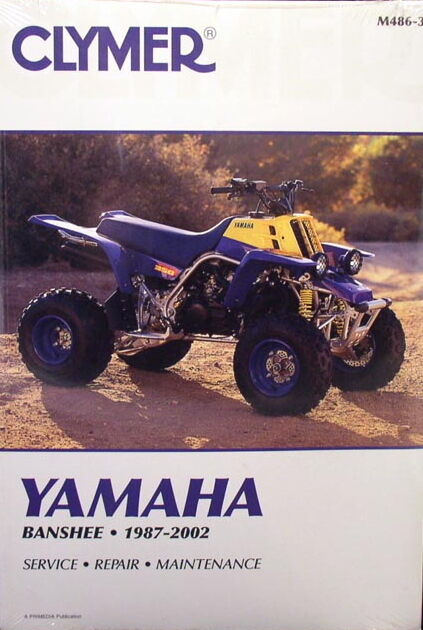yamaha atv yfz350 350 banshee service repair manual ebay rh ebay co uk Yamaha Generators Yamaha Generators