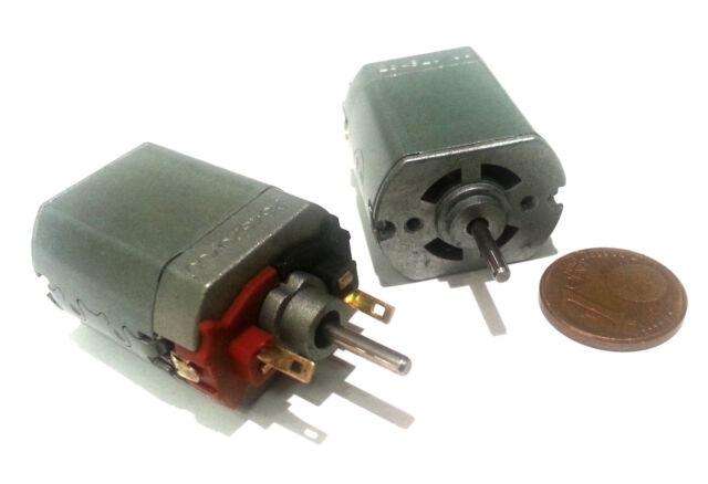 Bühler-Motor 12V  mit Doppelwelle 1.16.011.207 für Modellbahn geeignet 2 Stück