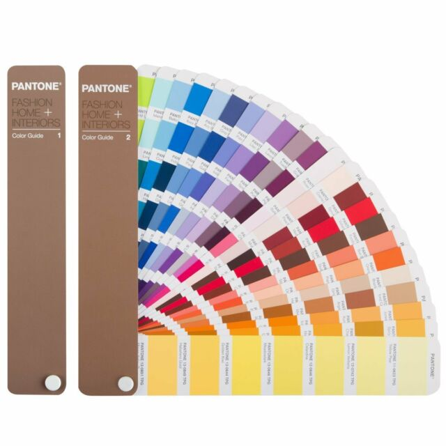 Pantone Color Guide   2310 Fashion, Home + Interiors Colors 2 Vol. Set  FHIP110N
