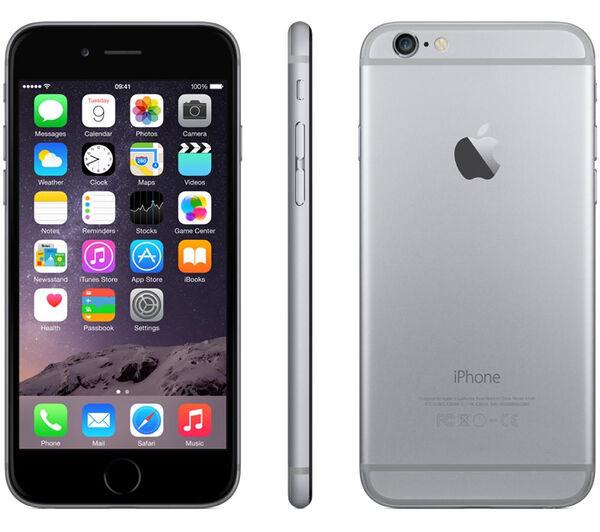 APPLE IPHONE 6 16GB SPACE GREY GRADO A/B + ACCESSORI - RICONDIZIONATO