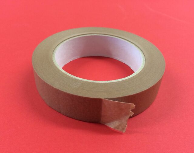 25mm Brown Adhesive Backing Tape Picture Framing 50m | eBay