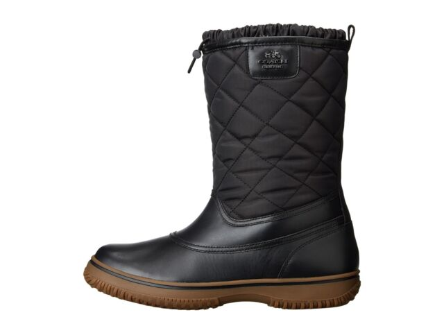 Pre-owned - Leather snow boots Coach Cheapest Price Clearance Latest Collections 100% Guaranteed Online Cheap vfxklKntV