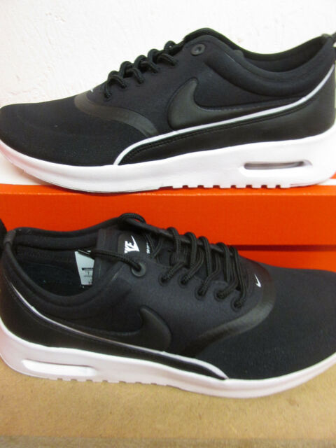 WMNS Nike Air Max Thea Ultra Black White Womens Running Shoes 844926 ... 4e06b86eb