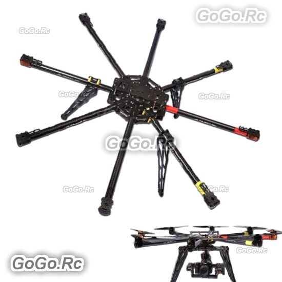Tarot Iron Man FPV 1000mm 8 Aix 3k Carbon Octocopter Multicopter ...