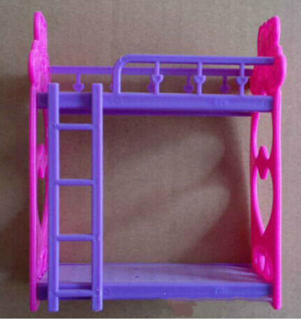 1 Set Barbie Beds With Ladder Bedroom Furniture | eBay