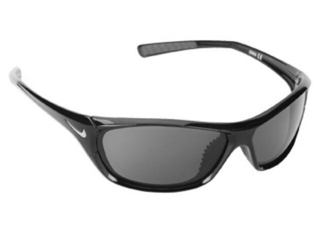 Nike Men's Sport Sunglasses VEER 2 EV0911 Black Maxoptics New w Tags Pouch  & Box