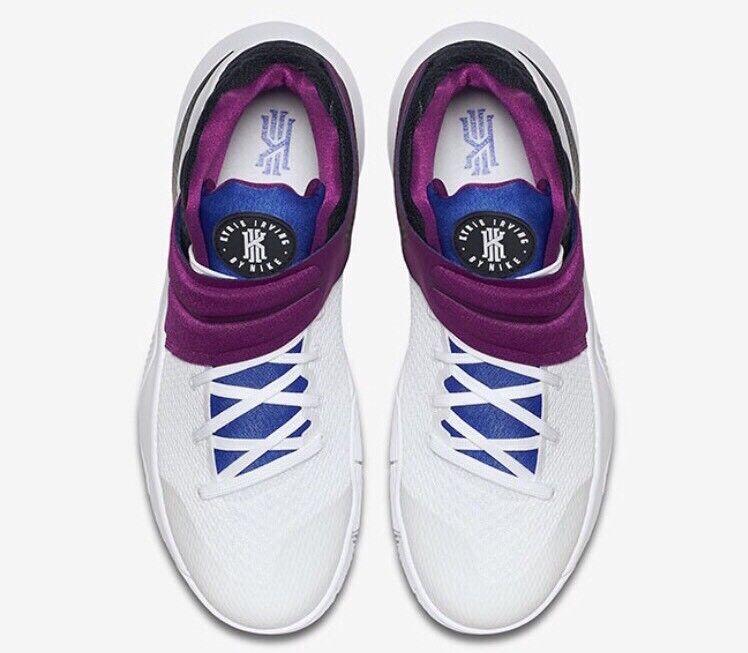 new arrival 835ea 8a173 ... Nike Kyrie 2 Kyrache Bold Berry Sz 9 Blue White Black Huarache  Basketball Shoes eBay ...