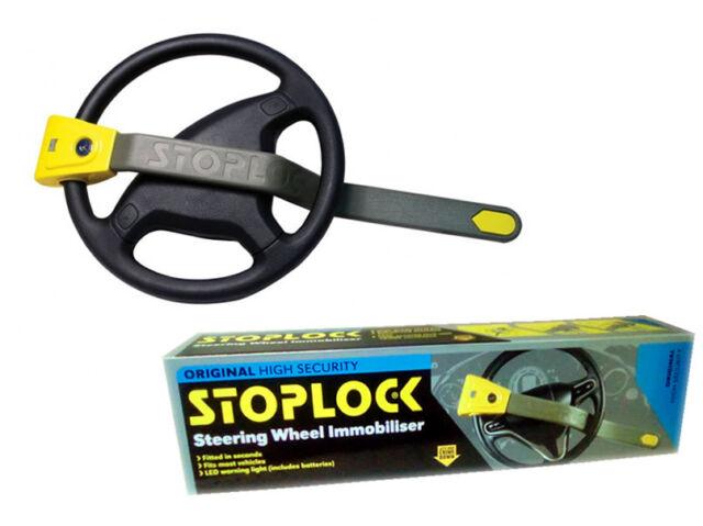 STOPLOCK STEERING WHEEL LOCK ORIGINAL SECURITY CAR ANTI THEFT VAN VEHICLE