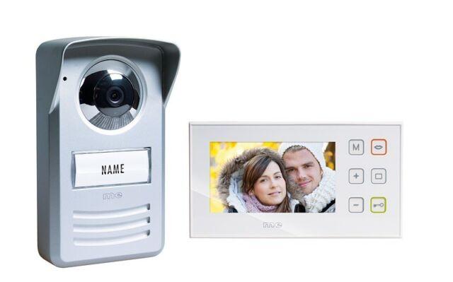 M-E Video-Türsprechanlage für 1-Familienhaus PVD 4410  Türsprechanlage PVD4410