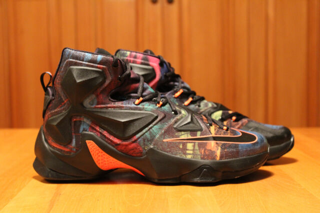 Nike Lebron 13 XIII Muticolor 330 Rare DS US Shoe size 10