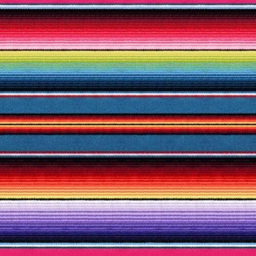 Mexican Rug History: 1 Yard Fiesta By Elizabeth's Studios Mexican Blanket
