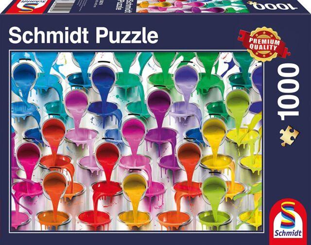 Schmidt Spiele 58219 - Farbeimer - 1000 Teile Puzzle # NEU OVP