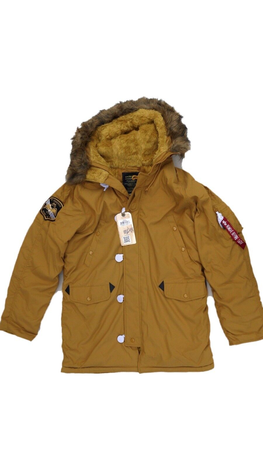 Alpha Industries N-3b Altitude Cold Weather Jacket Parka 3xl XXXL ...