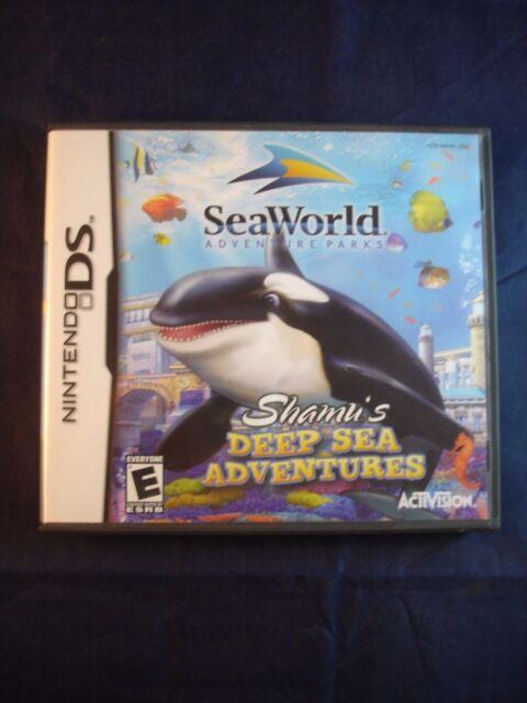 Sea World: Shamu's Deep Sea Adventures (Nintendo DS, 2005)