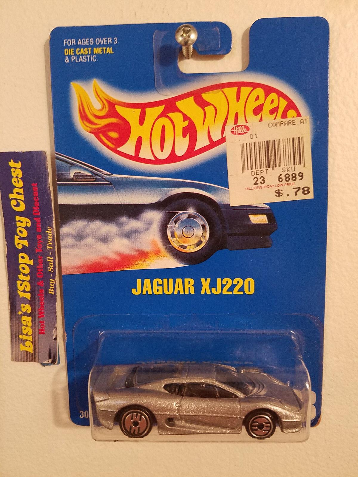 Jaguar Blue Card >> Hot Wheels 1992 Jaguar Xj220 Blue Card 203 B18 Ebay