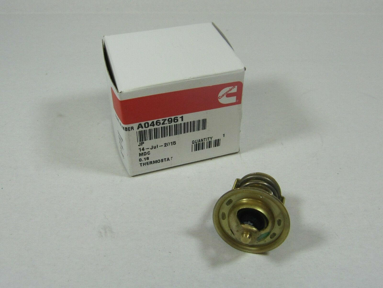 an Genuine RV Diesel Generator Thermostat 185 5458 Replaced by