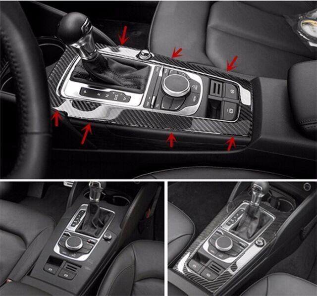 For AUDI A V Carbon Fiber Interior Console Gear Shift - Audi car gear