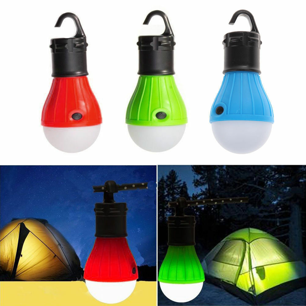 Picture 1 of 10 ...  sc 1 st  eBay & Soft Light Outdoor Hanging LED Camping Tent Light Bulb Fishing ...