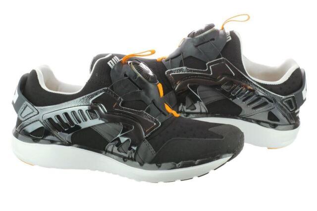 PUMA Future Disk Lite T 356389801 Black/Zinnia/Orange Men's Sneaker Shoes