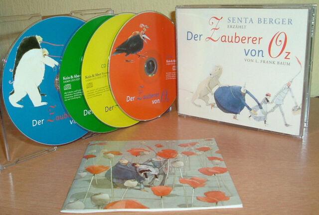 DER ZAUBERER - gelesen von Senta Berger -  von L. Frank Baum  (4 CDs)