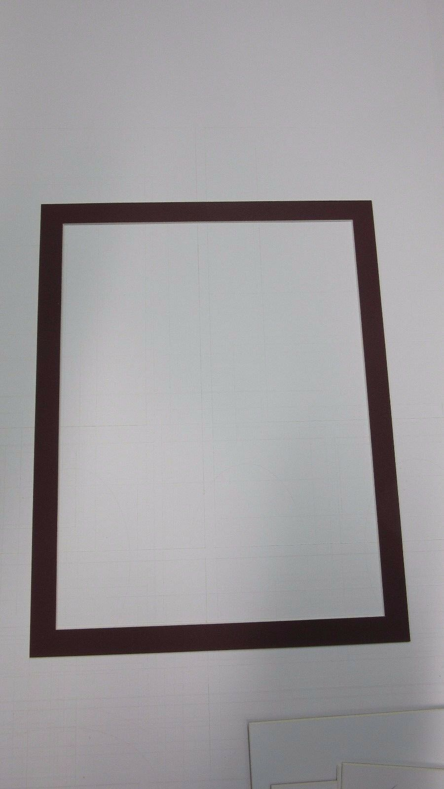 Picture framing mats 11x14 for 10x13 photo or painting maroon picture 1 of 2 jeuxipadfo Gallery