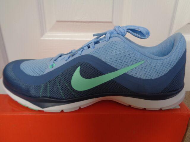 Nike Flex Trainer 6 Wmns Scarpe Da Ginnastica Scarpe Da Ginnastica 831217 401 UK 4.5 EU 38 US 7 Nuovo Scatola