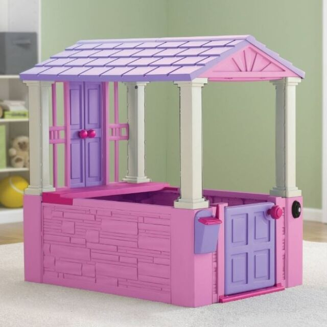 Playhouse for Kids Girls Toddler Toys Cottage Outdoor Indoor ...