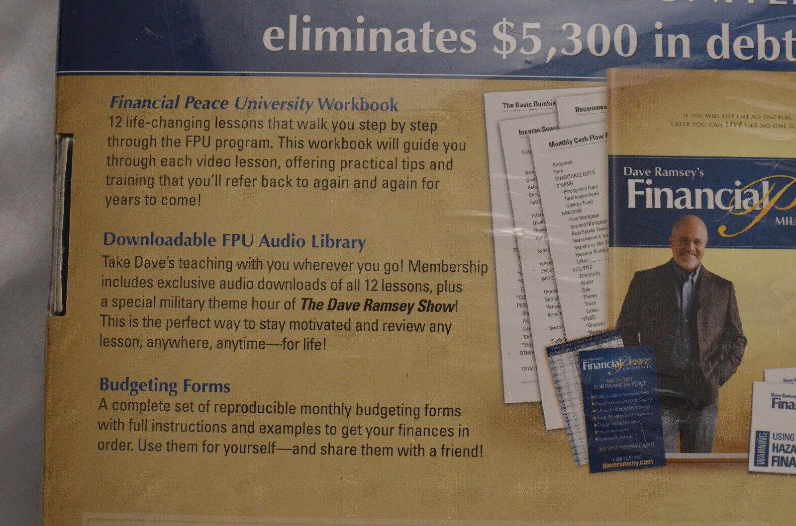 Dave Ramsey's Financial Peace Military Edition Membership Kit 2008 ...