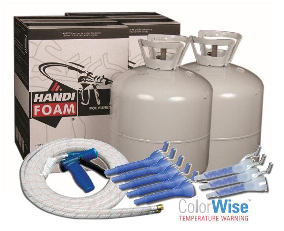 Handi Foam 600 Bf P10749 Spray Foam Insulation Kit Closed