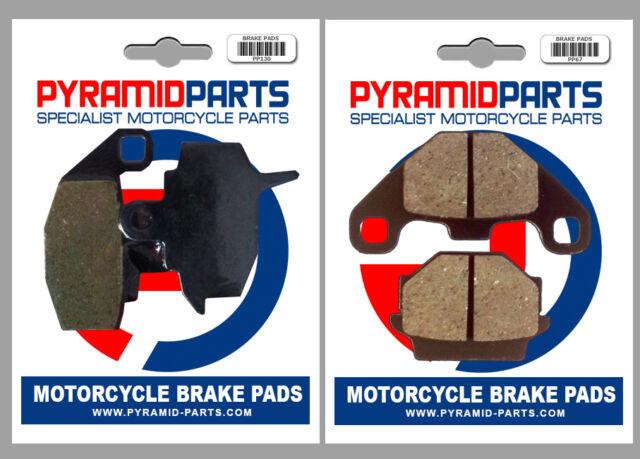 Front & Rear Brake Pads for Kawasaki KX125 KX250 KX500 87-88