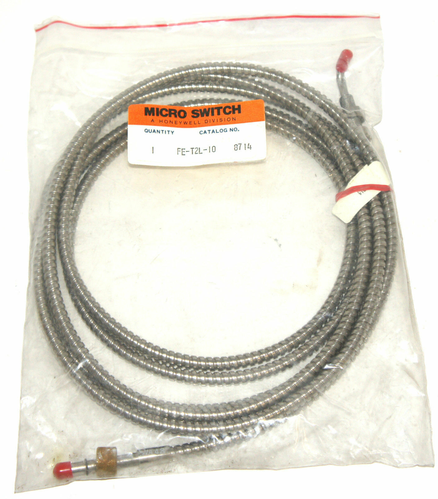 Honeywell Micro Switch Fe-t2l-10 Fiber Optic Cable FET2L10 | eBay