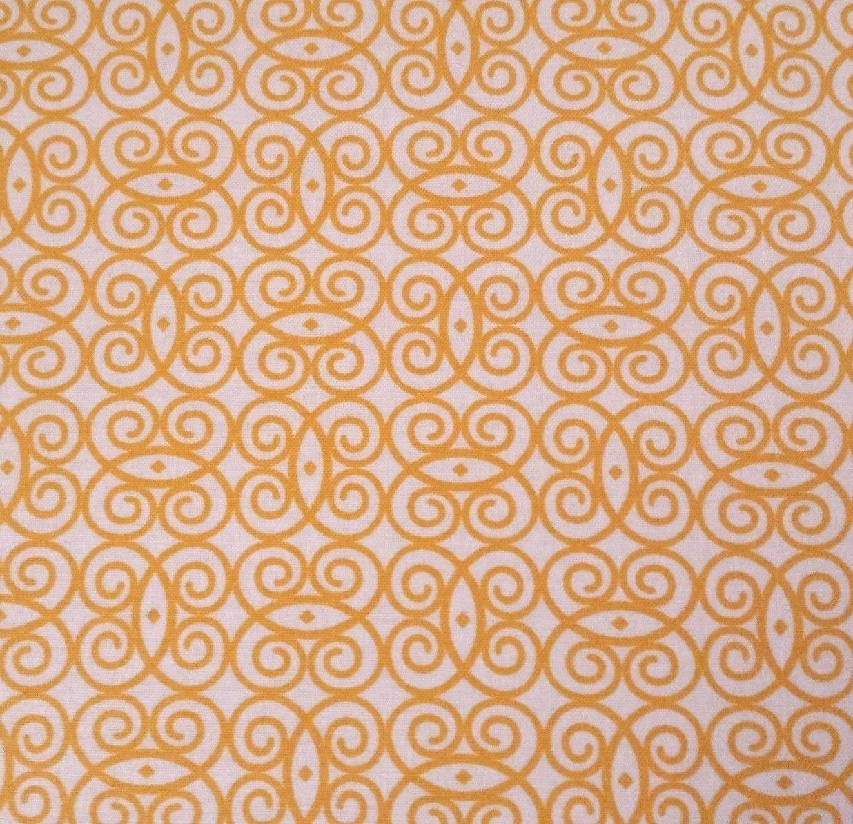Sassy by Studio 8 Quilting Treasures BTY Gold Yellow White ... : studio 8 quilting treasures - Adamdwight.com