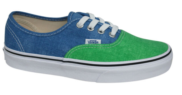Vans AUTHENTIC Classics washed 2 tone fern green campanula