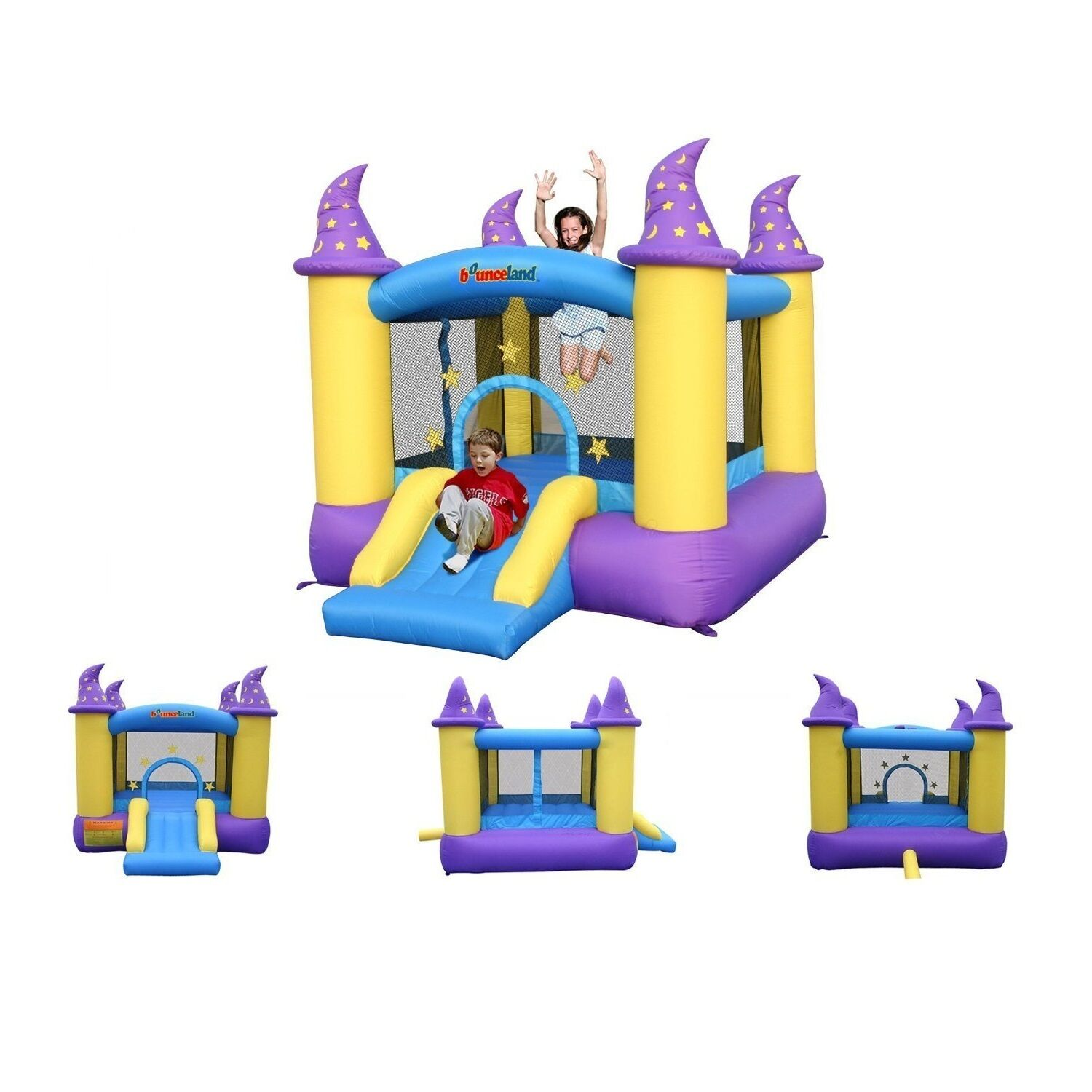 bounce house inflatable mercial grade outdoor kids magic wizard